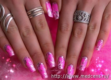 Цветы на ногтях: 30 фотографий для начинающих 18