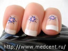 Цветы на ногтях: 30 фотографий для начинающих 21
