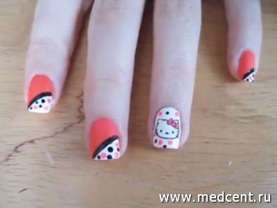 Кошки на ногтях: фото №2