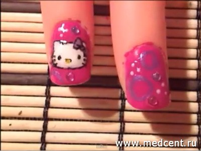 Кошки на ногтях: фото №3