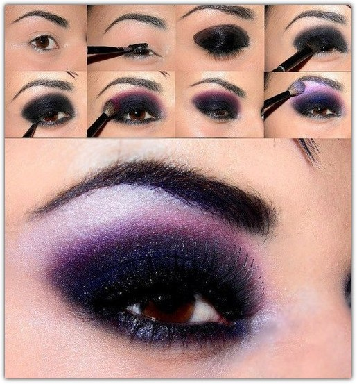 Макияж для карих глаз брюнеток: фото №2