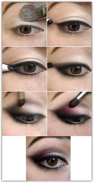 Макияж для карих глаз брюнеток: фото №6