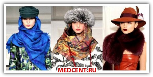 Модные аксессуары 2012 года. Головные уборы