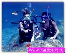 Подводное плавание: дайвинг