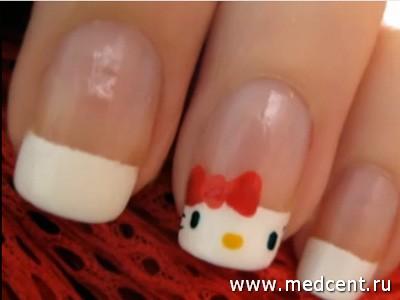 Кошки на ногтях: фото №4