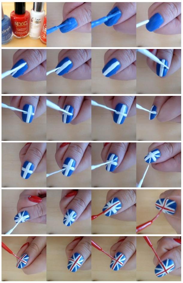 Классный маникюр в домашних условиях на своих ногтях