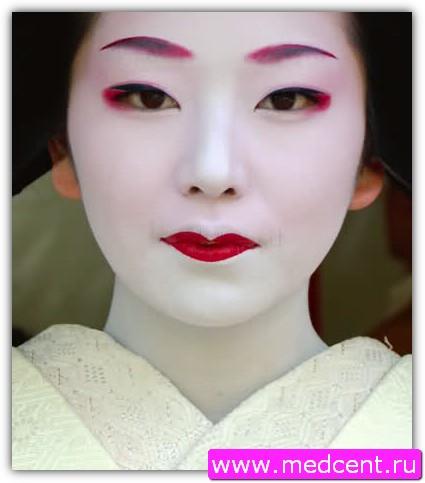 Японский макияж. Фото №1