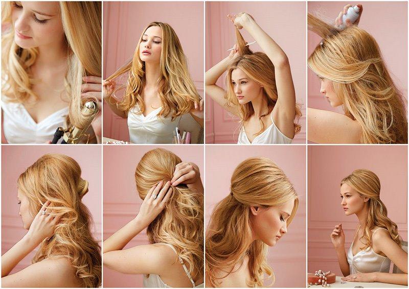 Причёски на длинные волосы своими руками пошаговая