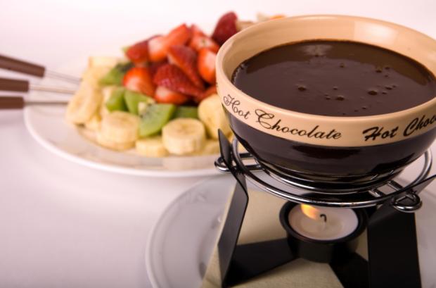 Шоколадное-фондю