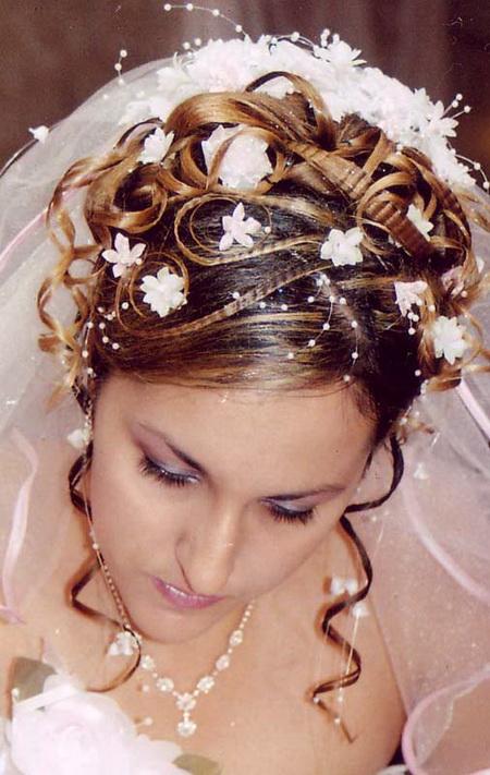 Прически с для свадьбы фото для