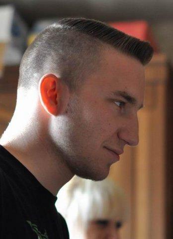 Причёска бокс мужская
