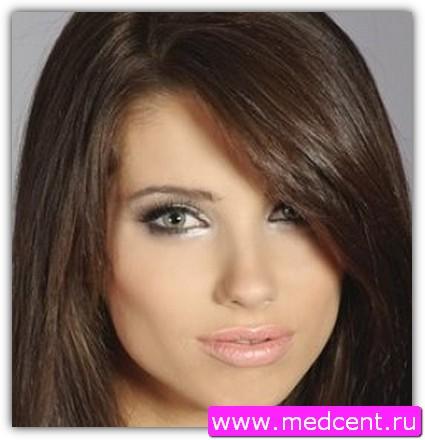 Дымчатый макияж: пример №1