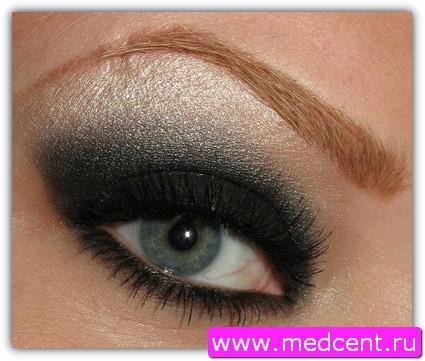 Дымчатый макияж: пример №2