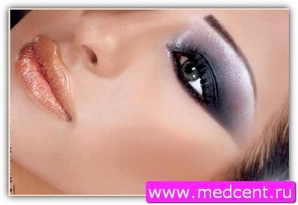 Дымчатый макияж: пример №5