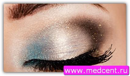 Дымчатый макияж: пример №7