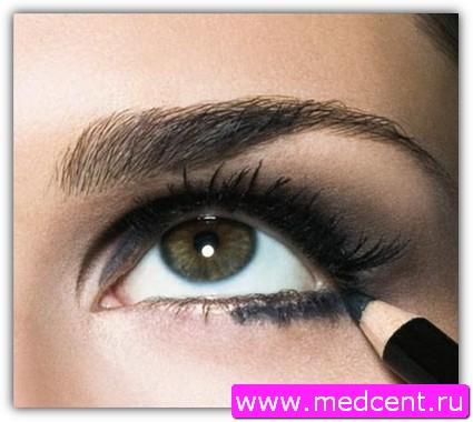 Дымчатый макияж: пример №8