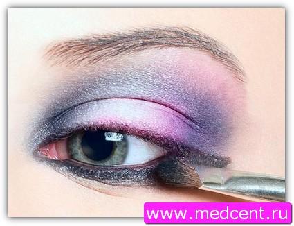 Дымчатый макияж: пример №9