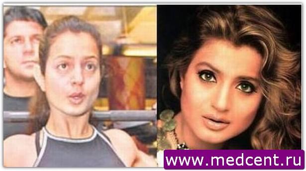 Индийский макияж: пример №7