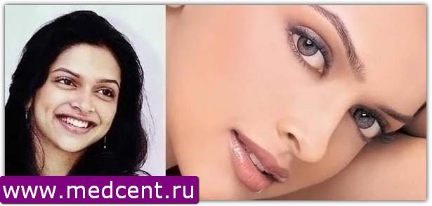 Индийский макияж: пример №8
