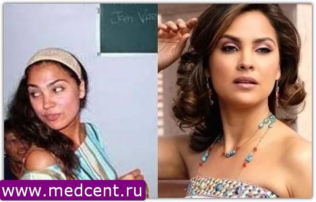 Индийский макияж: пример №9