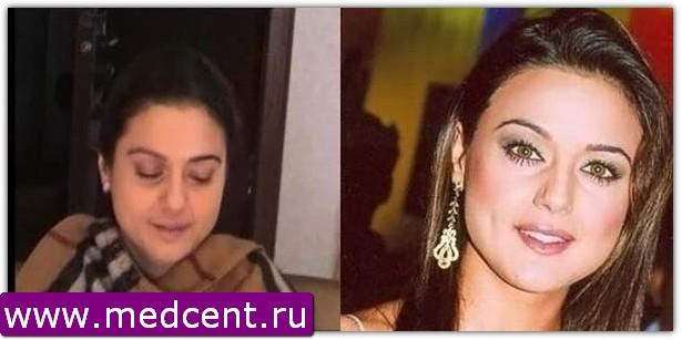 Индийский макияж: пример №2