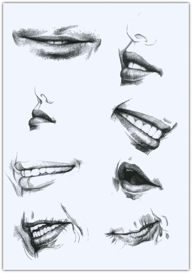 Как нарисовать портрет карандашом: пример №12