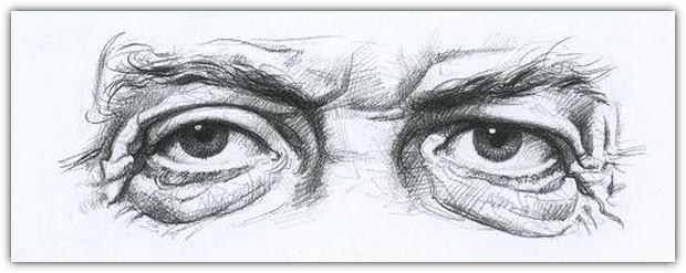 Как нарисовать портрет карандашом: пример №6