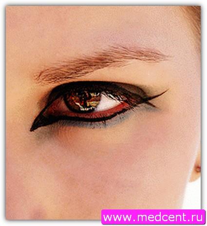 Макияж «Кошачий глаз». Фото №1