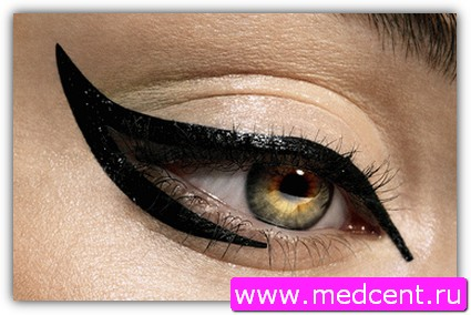 Макияж «Кошачий глаз». Фото №2