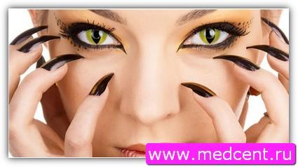 Макияж «Кошачий глаз». Фото №6