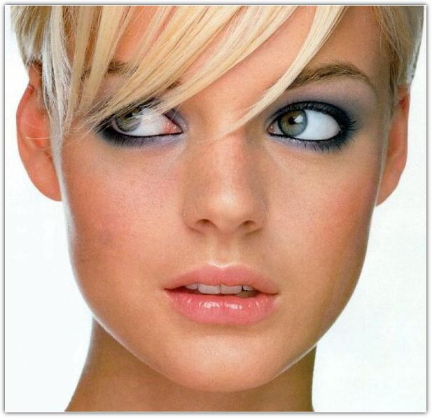 Макияж, увеличивающий глаза: пример №3