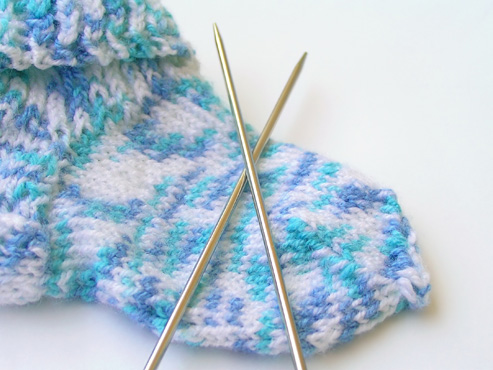 Какие нитки нужны для вязания носков