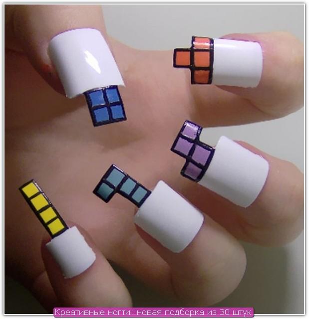 Креативные ногти: пример №2