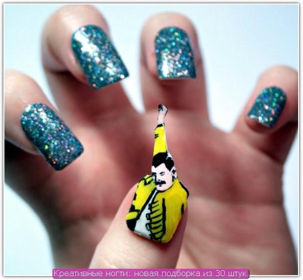 Креативные ногти: пример №4