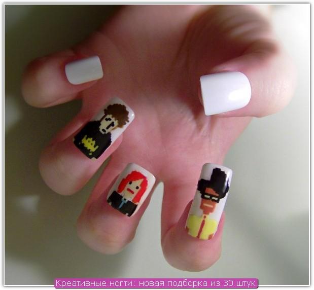 Креативные ногти: пример №5