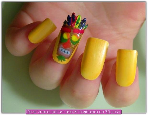 Креативные ногти: пример №6