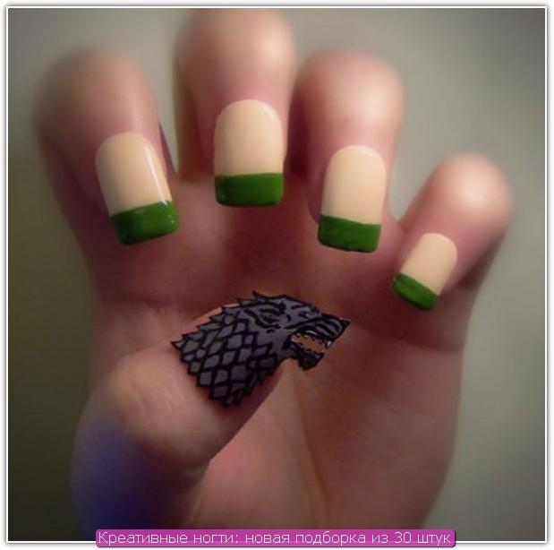 Креативные ногти: пример №7