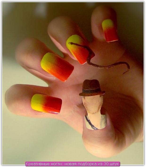 Ногти дизайн креатив