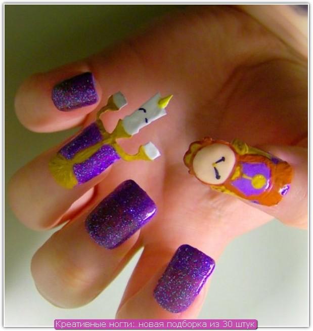 Креативные ногти: пример №17