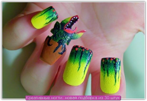 Креативные ногти: пример №19