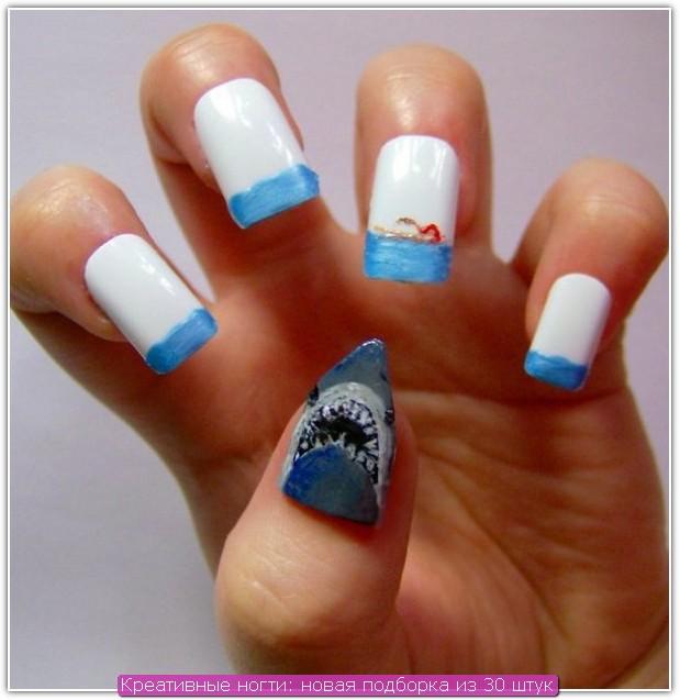 Креативные ногти: пример №20