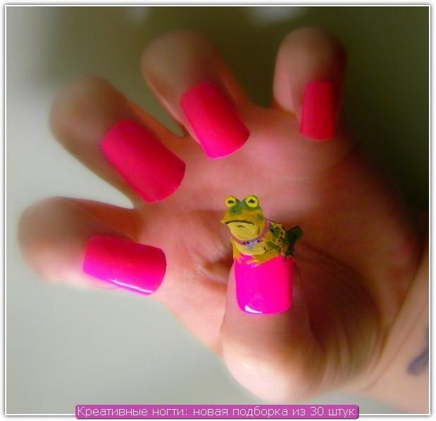 Креативные ногти: пример №21