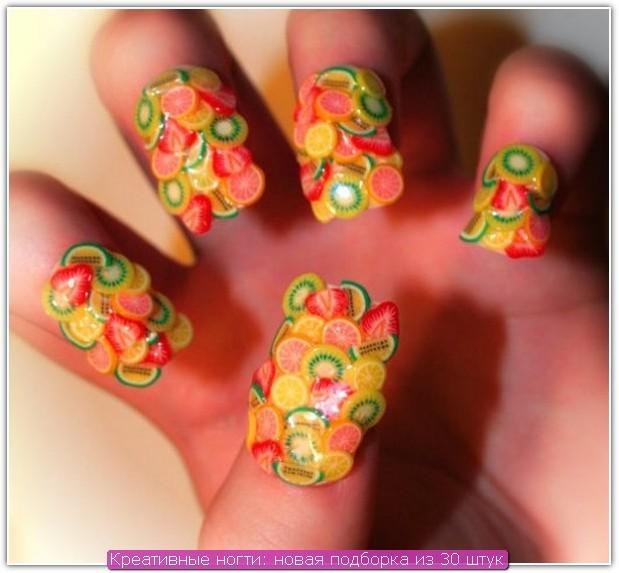 Креативные ногти: пример №23