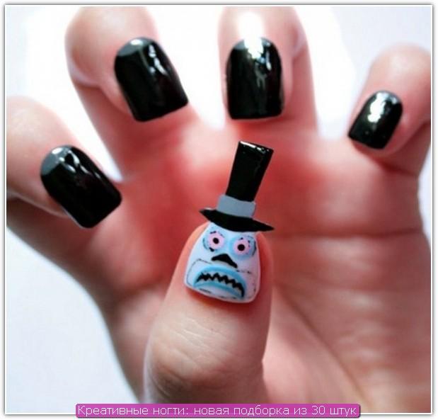 Креативные ногти: пример №25