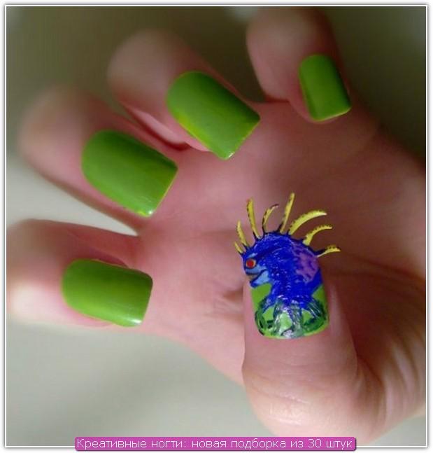 Креативные ногти: пример №26