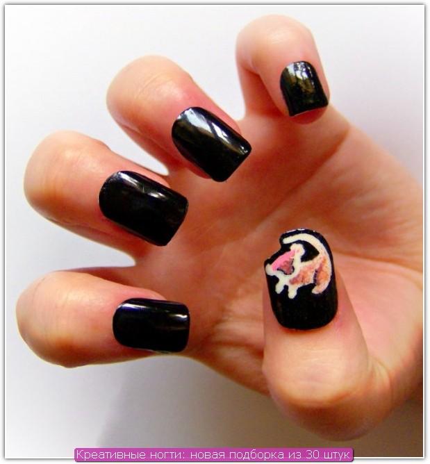 Креативные ногти: пример №29